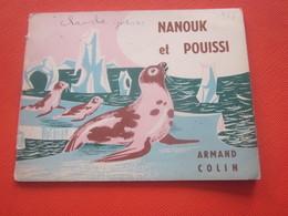 1956 PETIT ALBUM VINTAGE DE PATT & MINOUCHE COUVERTURE ILLUSTRATIONS DE PIERRE POULAIN IMP LANG PARIS - Books, Magazines, Comics