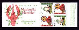 EUROPA - SUEDE 1998 - CARNET  YT C2041 - Facit H498 - Neuf ** MNH - Festivals Nationaux - 1998