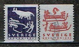 SUEDE /Oblitérés/Used/2001 - Patrimoine Mondial/Gravures Rupestres - Oblitérés