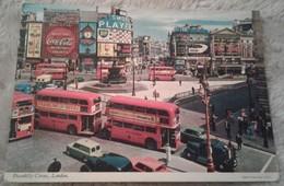 Inghilterra - London - Piccadilly Circus - Pubblicità Coca Cola - Bus 1979 Animata - Piccadilly Circus