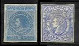 AZORES, Stamp Duty, PB 1, 7, * MLH, F/VF, Cat. € 20 - Revenue Stamps