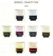 AZORES, Municipal Tax, PB 1/8, * MLH, F/VF, Cat. € 37 - Revenue Stamps
