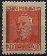 Poland 1927, Mi 246, President Moscicki - 1st Anniversary. Portrait. MNH** - Unused Stamps