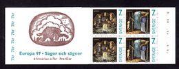 EUROPA - SUEDE 1997 - CARNET  YT C1983 - Facit H483 - Neuf ** MNH - Contes Et Légendes - Europa-CEPT