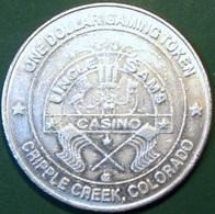 $1 Casino Token. Uncle Sam's, Cripple Creek, CO. D59. - Casino