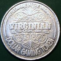 $1 Casino Token. Virginian, Reno, NV. 1988. D59. - Casino