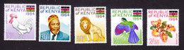 Kenya, Scott #15-19, Mint Hinged, Scenes Of Kenya, Issued 1964 - Kenya (1963-...)