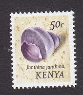 Kenya, Scott #51, Mint Hinged, Shells, Issued 1971 - Kenya (1963-...)