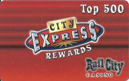 Rail City Casino - Sparks, NV - Slot Card - BLANK - Casino Cards