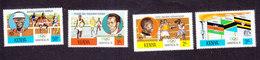 Kenya, Scott #60-63, Mint Hinged, Olympics, Issued 1976 - Kenya (1963-...)