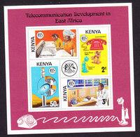 Kenya, Scott #59a, Mint Never Hinged, Telecommunications, Issued 1976 - Kenya (1963-...)