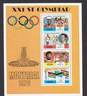 Kenya, Scott #63a, Mint Never Hinged, Olympics, Issued 1976 - Kenya (1963-...)