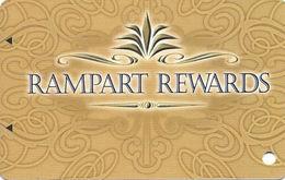 Rampart Casino - Las Vegas, NV - BLANK Slot Card / Arrows / ACC Over Mag Stripe - Casino Cards