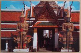 BANGKOK - THAILAND - Wat Phra Keo, Temple Of Emerald Buddha - Greater Bangkok Metropolitan - Masked Gods VG - Tailandia