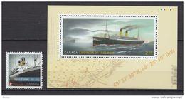 Canada, 2014, MNH, Empress Of Ireland, Bateau, Boat, Naufrage, Maritime, Shipwreck, Histoire, History - 1952-.... Regno Di Elizabeth II