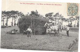 LA VIE CHAMPETRE - La Mise En Meule Des Récoltes - ROUIL2 - - Cultures