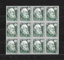 1942 PRO JUVENTUTE → Teilbogen Mit 12 Briefmarken  ►SBK-J101 **◄ - Pro Juventute