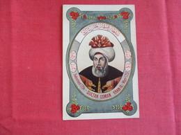 Turkey-Sultan-Osman-Khan-III-  Ref 2909 - Turkey