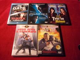 LOT DE 5 DVD   POUR 10 EUROS ( Lot 15 ) - DVDs