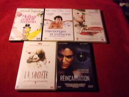 LOT DE 5 DVD   POUR 10 EUROS ( Lot 34 ) - DVDs