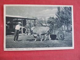 Costa-Rica-Carreta-Oxen-Cart Ref 2909 - Costa Rica