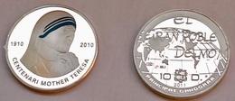 Silver Coin Mother Teresa Andorra - Andorre