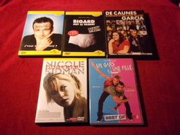 LOT DE 5 DVD   POUR 10 EUROS ( Lot 116 ) - DVD