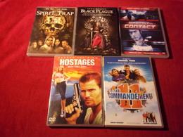 LOT DE 5 DVD   POUR 10 EUROS ( Lot 249 ) - DVDs