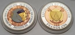 Silver Coin Mother Teresa Cameroun Cameroon - Cameroon