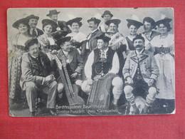 Germany-AK-Bertechsgaden-Bertechsgadener-Bauerntheater-1913-mailed-   Ref 2910 - Berchtesgaden