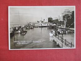 Ecuador Guayaquil - Yacht Club Old Unused Real Photo Postcard    Ref 2910 - Ecuador