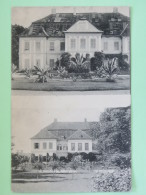 "Hungary 1927 Postcard """"Houses"""" To Paris - Plane - Hongrie"