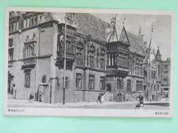 "Poland 1948 Special Cancel Postcard """"Wroclaw Town Hall"""" - WW 2 - 1944-.... Republik"