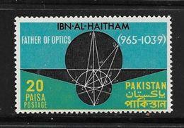 PAKISTAN 1969 IBN-AL-HAITHAM  YVERT N°278  NEUF MNH** - Pakistan