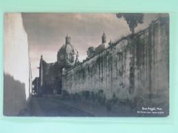 "Mexico 1931 Postcard """"San Angel - Church"""" To Nachod Bohemia Czechoslovakia - Mexique"