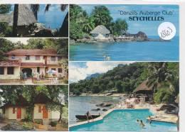 CPM GF   -18603 -Seychelles - Mahé- Multivues Danzil's Auberge Club - Seychelles