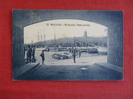 Spain-Malaga-El-Puerto-1926-Cover-AMB-ASC-Malaga- E,ref 2910 - Malaga