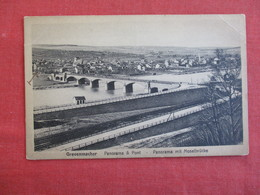 Luxembourg-Grevenmacher-Greiwemaacher-Panorama-Pont-circa-1930 Ref 2910 - Troisvièrges