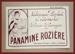 Buvard  PANAMINE ROZIERE  - Nettoyage Parfait Des Vêtements Soieries - Lainages - Wash & Clean