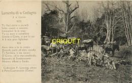 Corse, Lamentu Di U Castagnu, Bûcherons Au Travail..., Belle Carte De La Collection Limongi - France