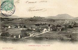 CPA - DOMFAING (88) - Aspect Du Village En 1906 - Other Municipalities