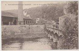 CPA 52 RACHECOURT SUR MARNE Pont De Sommeville - Vue De L' Usine - Autres Communes