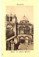 CPA N°21138 - LOT DE 9 CARTES DE JERUSALEM - EGLISE DU SAINT SEPULCRE - Palästina