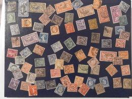 FRANCE LOT DE 76 TIMBRES ANCIENS - Verzamelingen