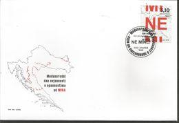 HR 2018-1311 MINE, HRVATSKA CROATIA, FDC - Kroatien