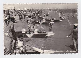 Cesenatico La Spiaggia Animata Viaggiata 1957 - Cesena