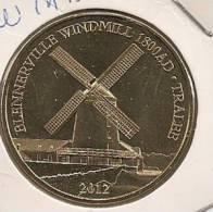 MEDAILLE TOURISTIQUE MONNAIE DE PARIS IRLANDE WINDMILL 2012 - Monnaie De Paris