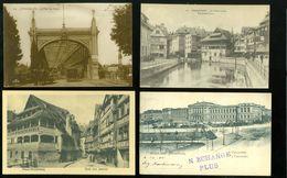 Lot De 60 Cartes Postales De France  Strasbourg  Strassburg  Lot Van 60 Postkaarten Van Frankrijk Straatsburg - 60 Scans - Cartes Postales