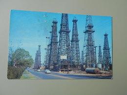 ETATS UNIS CA CALIFORNIA LONG BEACH OIL WAS DISCOVERED HERE JUNE 25, 1921...... - Long Beach
