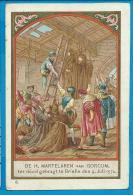 Holycard    B. Kûhlen    St. Martelaren V. Gorcum   Brielle   Litanie - Francobolli